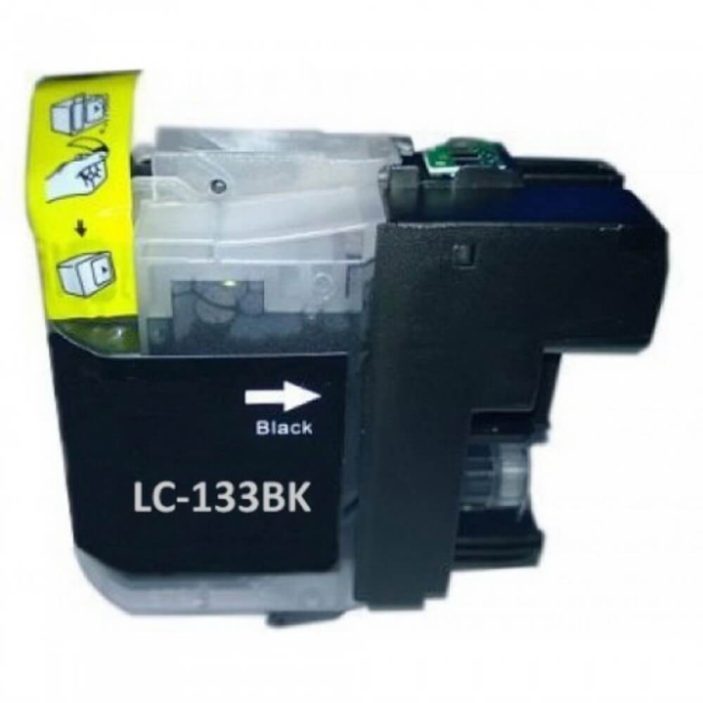 Image of Compatible Brother LC133BK Black Ink Cartridge
