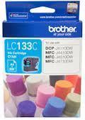 Image of Brother LC133C Genuine Cyan Ink Cartridge