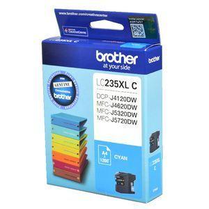 Image of Brother LC235XLC High Yield Genuine Cyan Ink Cartridge