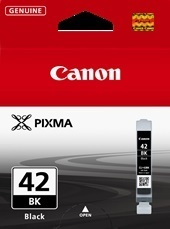 Image of Canon CLI-42BK Genuine Black Ink Cartridge