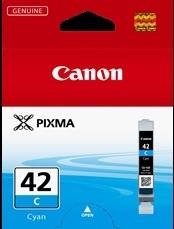 Image of Canon CLI-42C Genuine Cyan Ink Cartridge