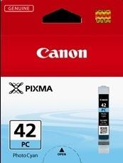 Image of Canon CLI-42PC Pro100 Genuine Photo Cyan Ink Cartridge