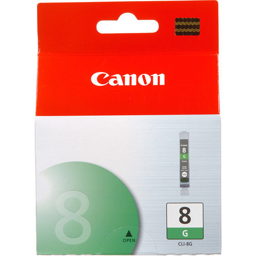 Image of Canon CLI-8GR Genuine Green Ink Cartridge