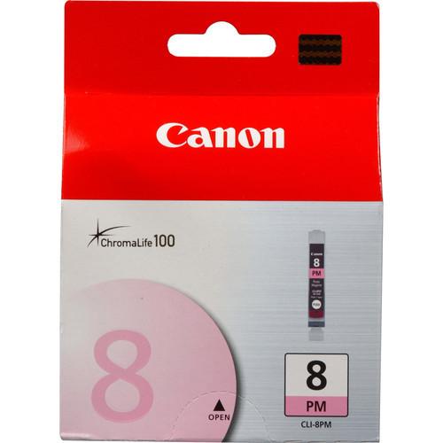 Image of Canon CLI-8PM Genuine Photo Magenta Ink Cartridge