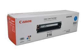 Image of Canon Cart-316 Genuine Cyan Toner Cartridge