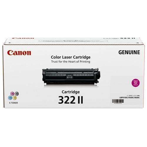 Image of Canon Cart-322IIM LBP-9100Cdn Genuine Magenta Toner Cartridge