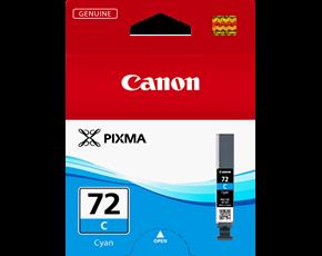 Image of Canon Pro10 PGI72C Genuine Cyan Ink Cartridge