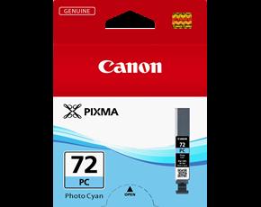 Image of Canon Pro10 PGI72PC Genuine Photo Cyan Ink Cartridge
