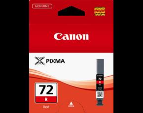 Image of Canon Pro10 PGI72R Genuine Red Ink Cartridge