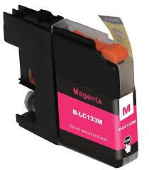 Image of Compatible Brother LC133M Magenta Ink Cartridge