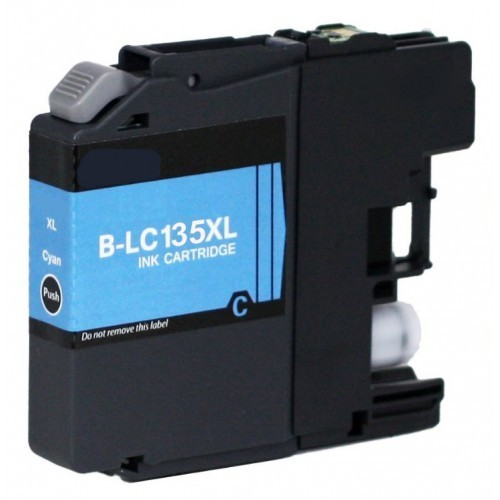 Image of Compatible Brother LC135XL Cyan Ink Cartridge