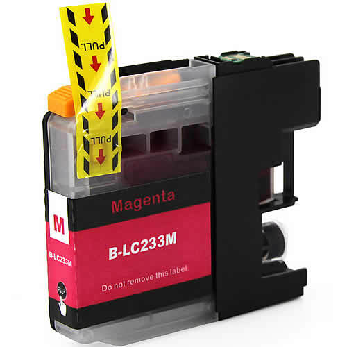 Image of Compatible Brother LC233M Magenta Ink Cartridge