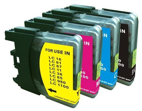 Image of Compatible Brother LC38 LC67 Ink Combo Deal
