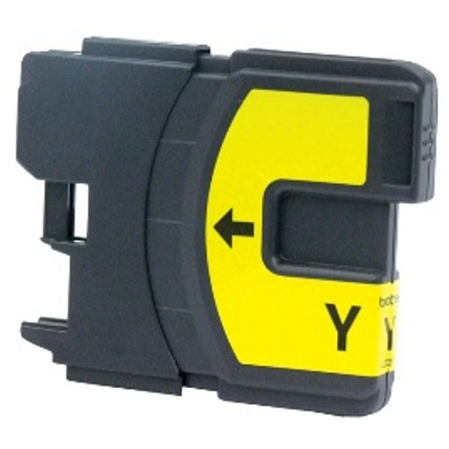 Image of Compatible Brother LC38 LC67 Yellow Ink