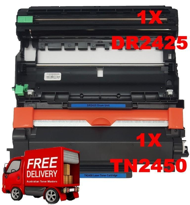 Image of Compatible Brother TN-2450 & DR-2425 Cartridges Deal 1