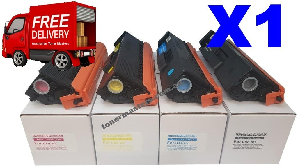 Image of Compatible Brother TN-348 Cartridges Combo Deal X1