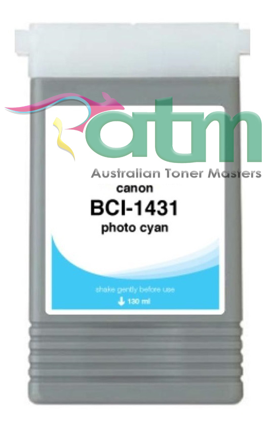 Image of Compatible Canon BCI-1431PC Photo Cyan Pigment Ink