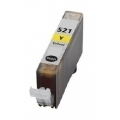 Image of Compatible Canon CLI-521Y Yellow Ink Cartridge