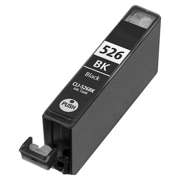 Image of Compatible Canon CLI-526BK Black Ink Cartridge
