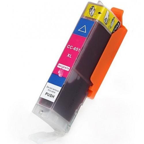 Image of Compatible Canon CLI-651XLBK Magenta Ink Cartridge