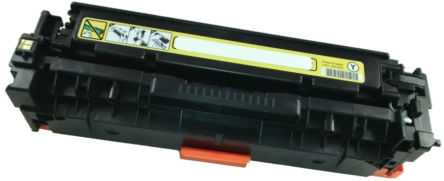 Image of Compatible Canon Cart418 Yellow Cartridge