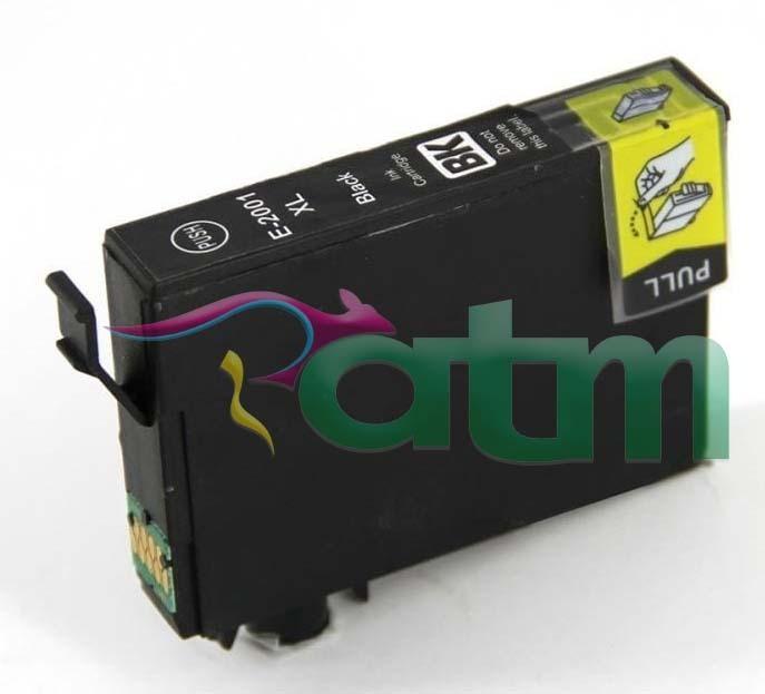 Image of Compatible Epson 200XL C13T201192 Black Ink Cartridge