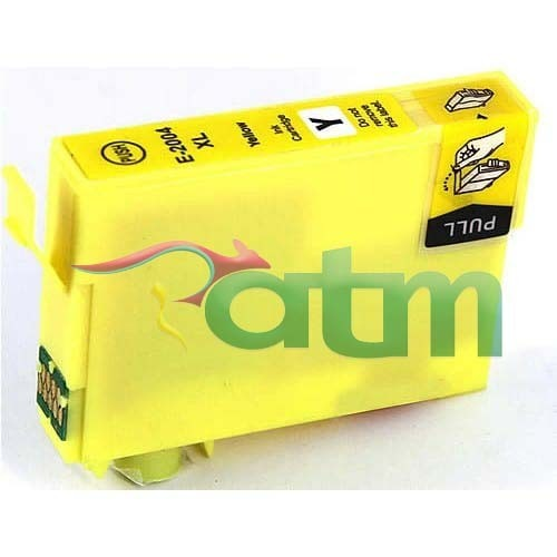 Image of Compatible Epson 200XL C13T201492 Yellow Ink Cartridge