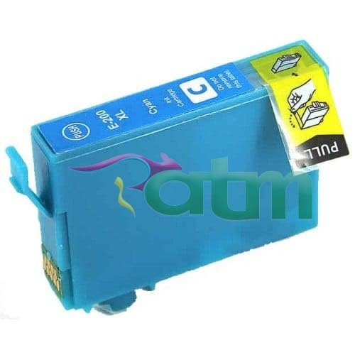 Image of Compatible Epson 200XL CT201292 Cyan Ink Cartridge