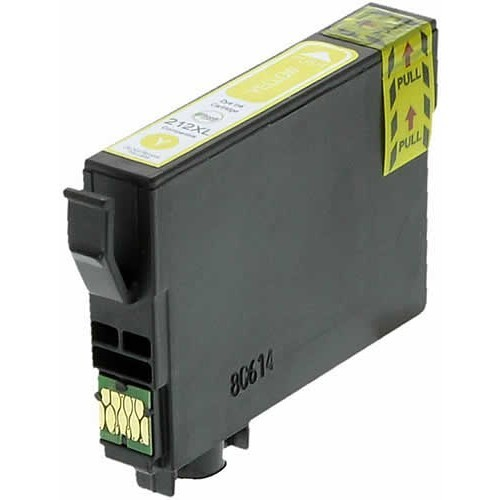 Image of Compatible Epson 212XL C13T02X492 Yellow Ink Cartridge