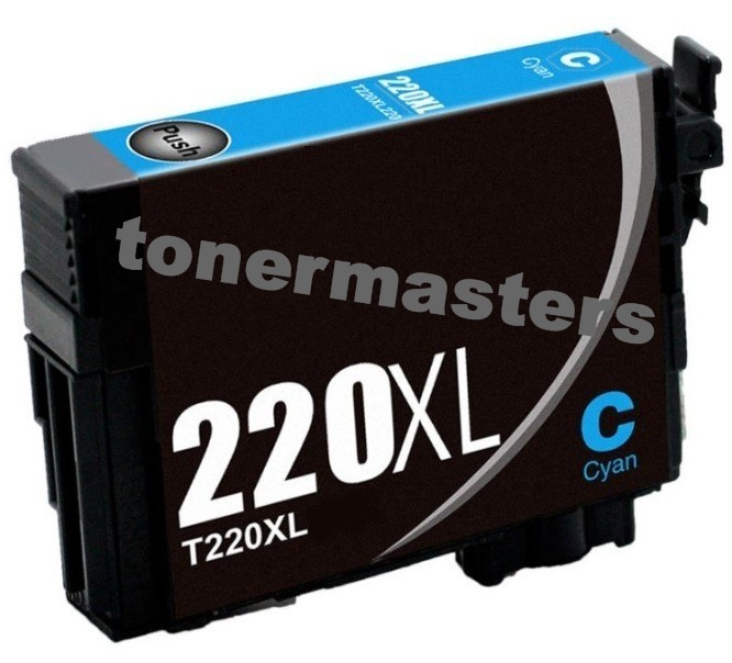 Image of Compatible Epson 220XL C13T294292 Cyan Ink Cartridge
