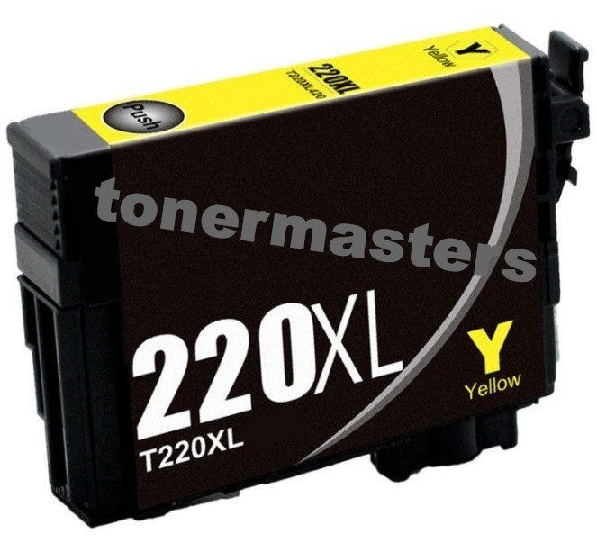 Image of Compatible Epson 220XL C13T294492 Yellow Ink Cartridge