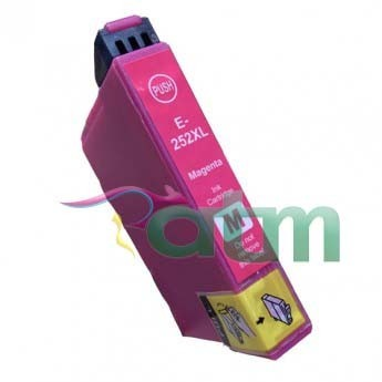 Image of Compatible Epson 252XL C13T253392 Magenta Ink Cartridge