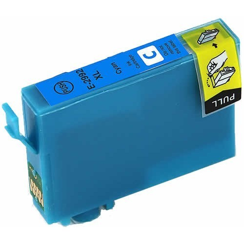 Image of Compatible Epson 29XL C13T29924010 Cyan Ink Cartridge