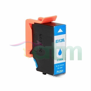 Image of Compatible Epson 312XL C13T183292 Cyan Ink Cartridge