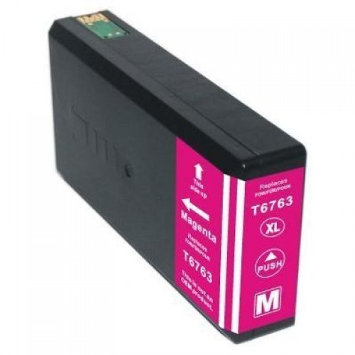 Image of Compatible Epson 676XL C13T676392 Magenta Ink Cartridge
