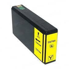 Image of Compatible Epson 676XL C13T676492 Yellow Ink Cartridge