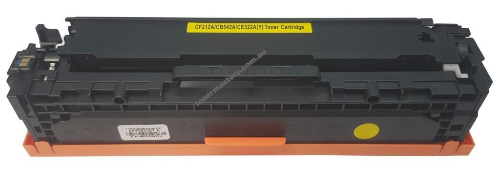 Image of Compatible HP 125A CB542A Yellow Toner