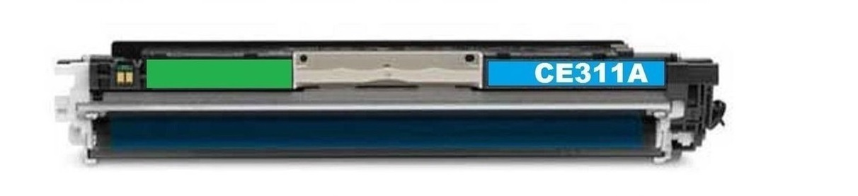 Image of Compatible HP 126A CE311A Cyan Toner Cartridge