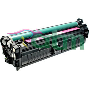 Image of Compatible HP 307A CE743A Magenta Toner Cartridge