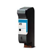 Image of Compatible HP 45 51645A High Yield Black Ink Cartridge
