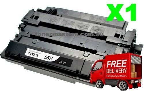 Image of Compatible HP CE255X Toner Cartridge X1