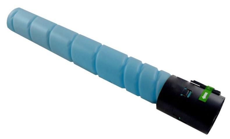Image of Compatible Konica Minolta TN216C TN319C Cyan Toner