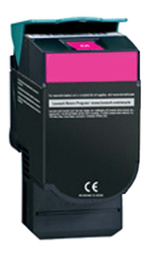 Image of Compatible Lexmark 70C8HM0 708HK Magenta Toner Cartridge