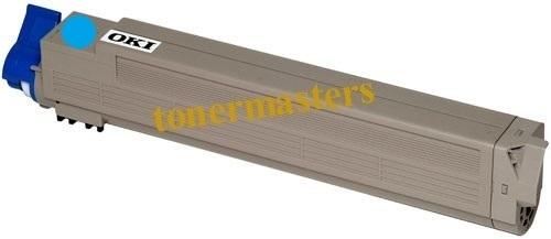 Image of Compatible Oki 42918919 Cyan Toner Cartridge