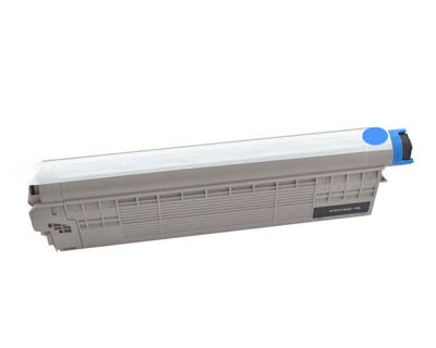 Image of Compatible Oki C612n 46507511 Cyan Toner Cartridge