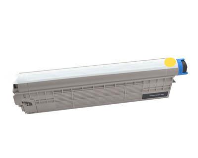 Image of Compatible Oki MC853dn 45862841 Yellow Toner Cartridge