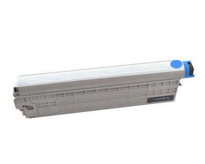 Image of Compatible Oki MC853dn 45862843 Cyan Toner Cartridge