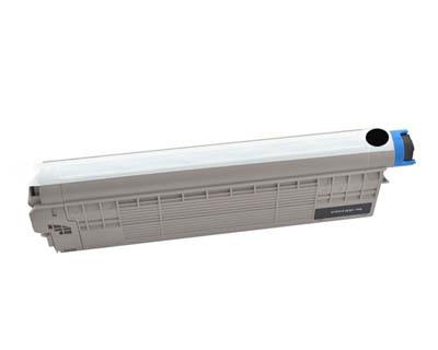 Image of Compatible Oki MC853dn 45862844 Black Toner Cartridge