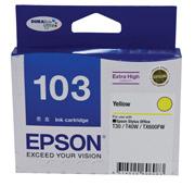 Image of Epson 103N C13T103492 Genuine Yellow Ink Cartridge