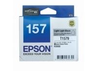 Image of Epson 157 C13T157990 Genuine L L Black Ink Cartridge